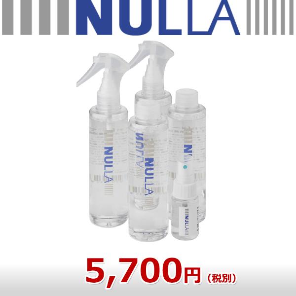 衣類を急速 イオン消臭 消したい時にスグ消える NULLA ヌーラ 詰替え用
